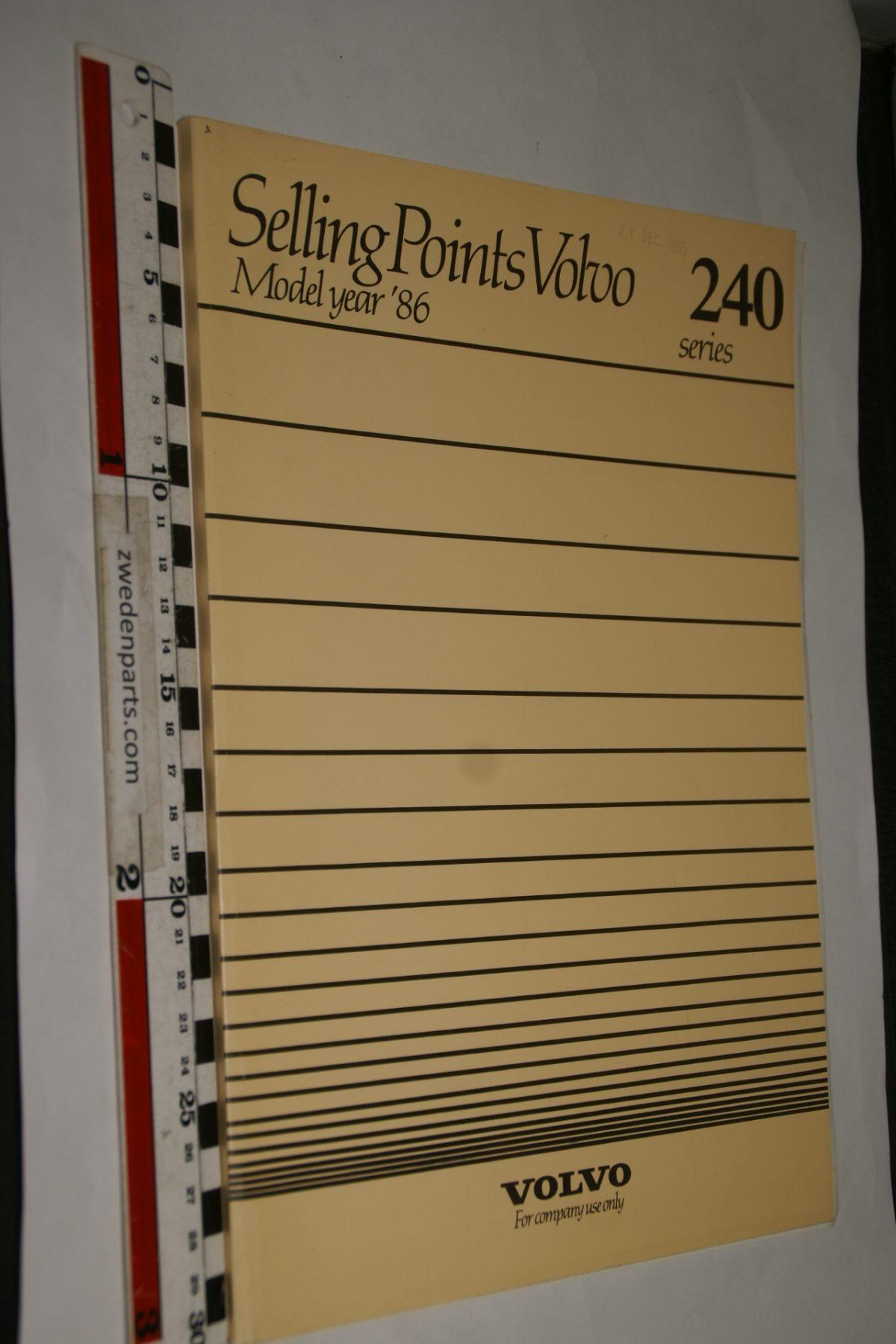 DSC05571 1986 boek Volvo 240 Sellingpoints