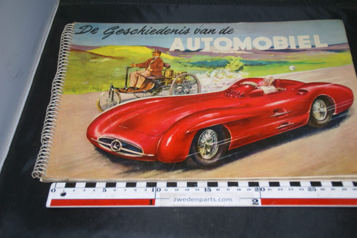 DSC04231 ca. 1954 plaatjes album Piet Olyslager, Full Speed