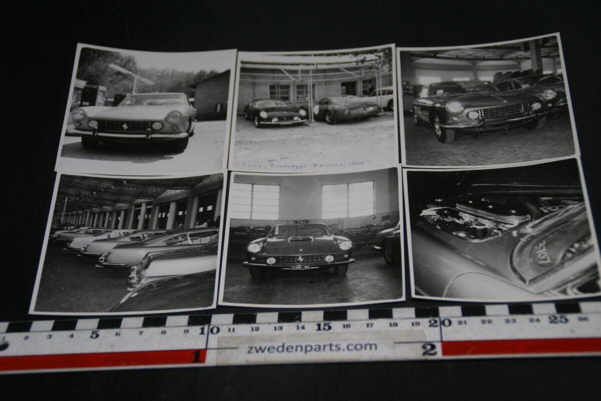 DSC06012 set foto's  Ferrari 250 GT 2+2 met prototype