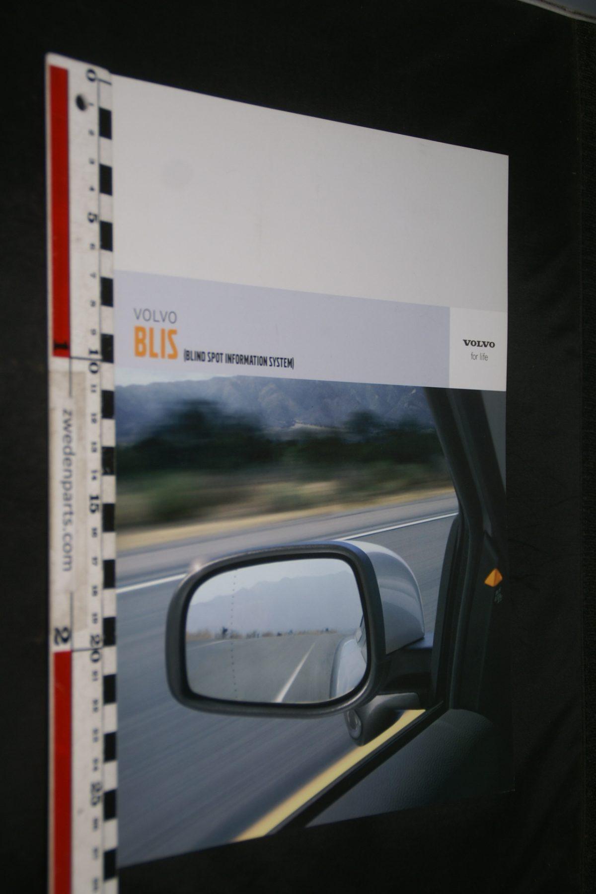 DSC06036 2005 brochure Volvo BLIS systeem nr. 0905V1