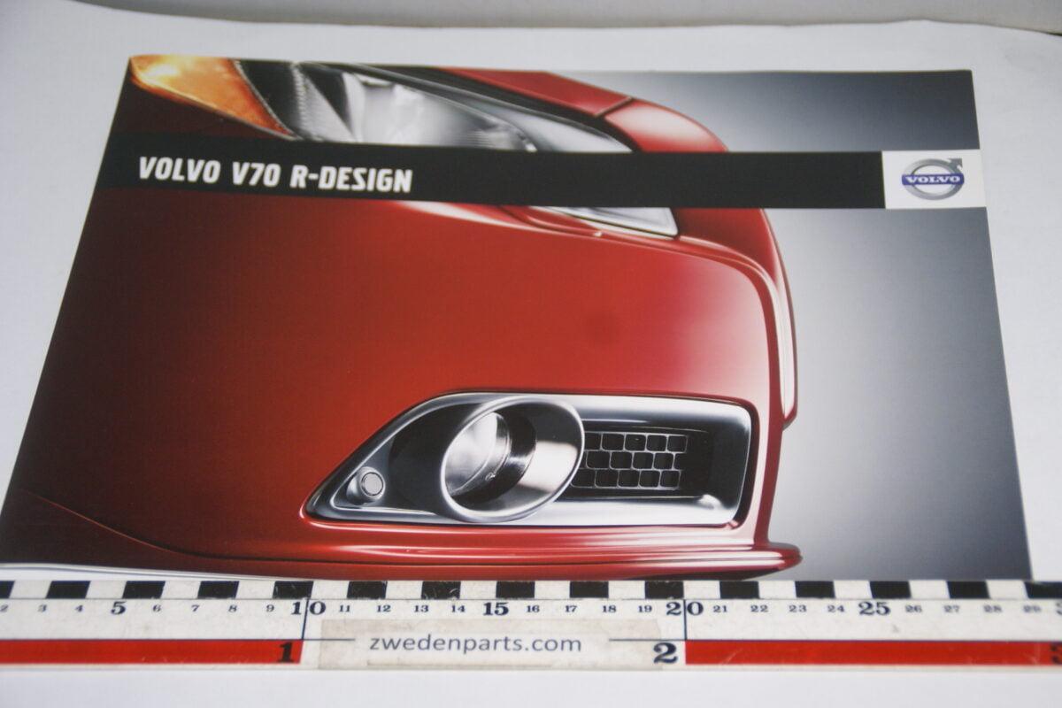 DSC06040 2008 brochure Volvo V70 R- Design nr. SP-V70-00011 V1