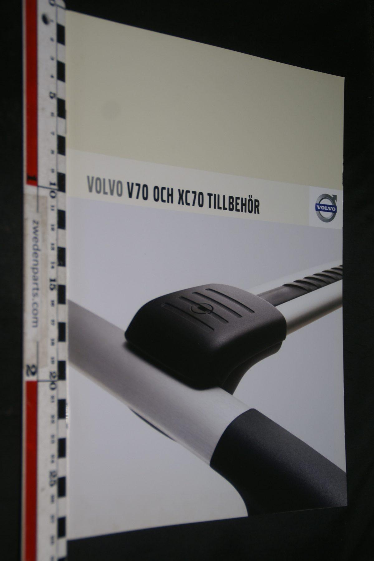 DSC06042 2007 brochure Volvo V70 en XC70 accessoires nr. MSPV 527-4960