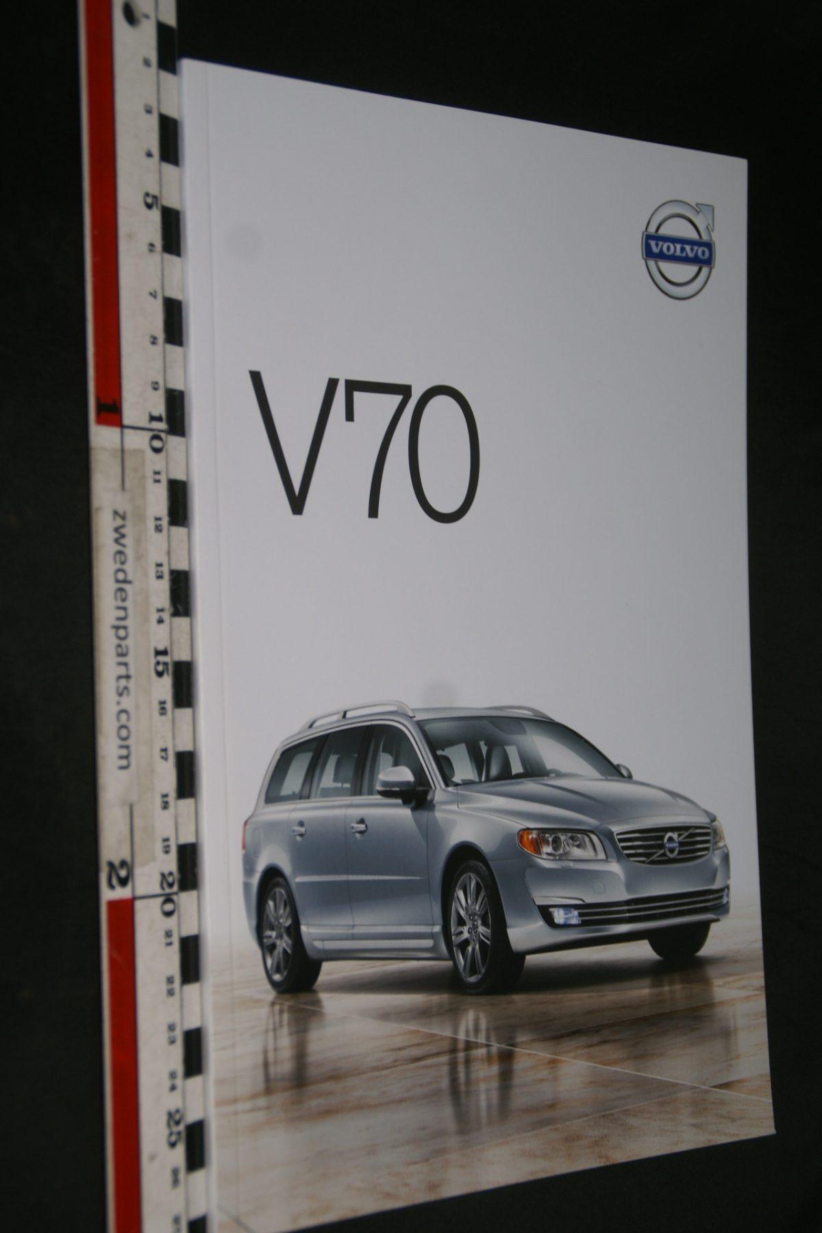 DSC06044 2013 brochure Volvo V70  nr. V70-MY14-2013V1
