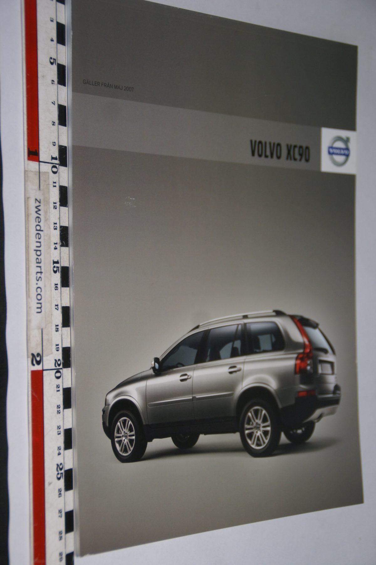 DSC06050 2008 brochure Volvo XC90 nr. SP-XC90-00001 0108.VBPV 9-08