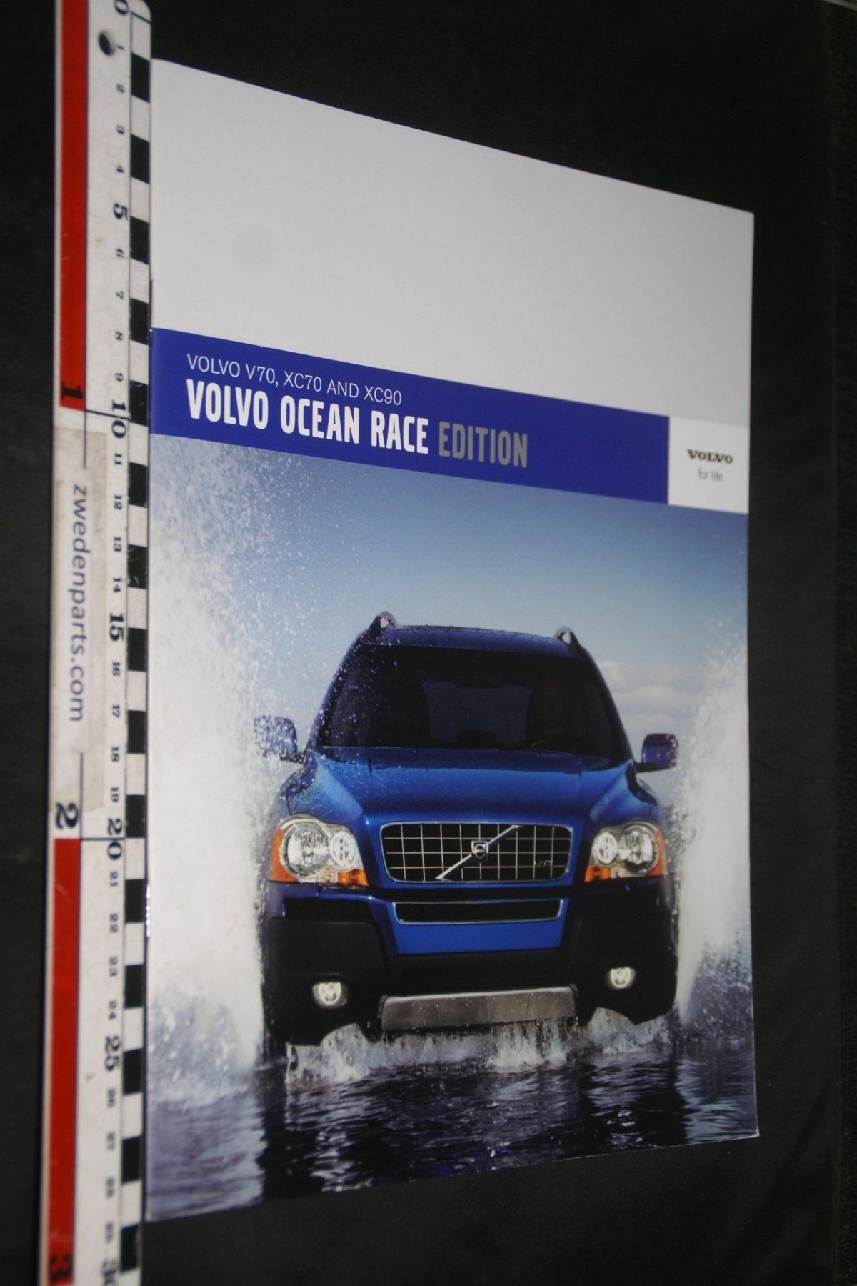 DSC06054 2006 brochure Volvo XC90 Ocean Race nr. MSPV 527-4623