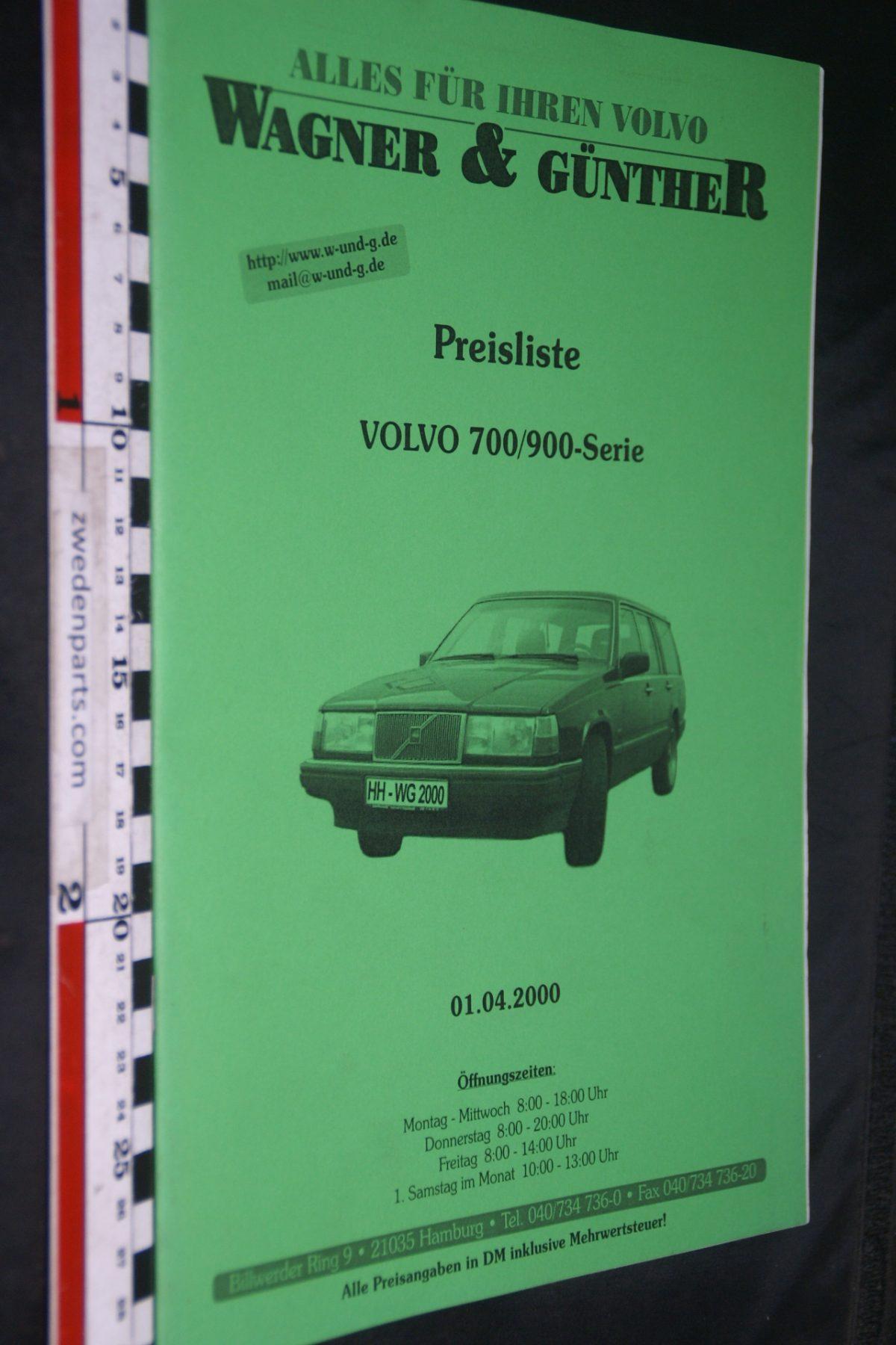 DSC06056 2000 brochure prijslijst Volvo 700 900