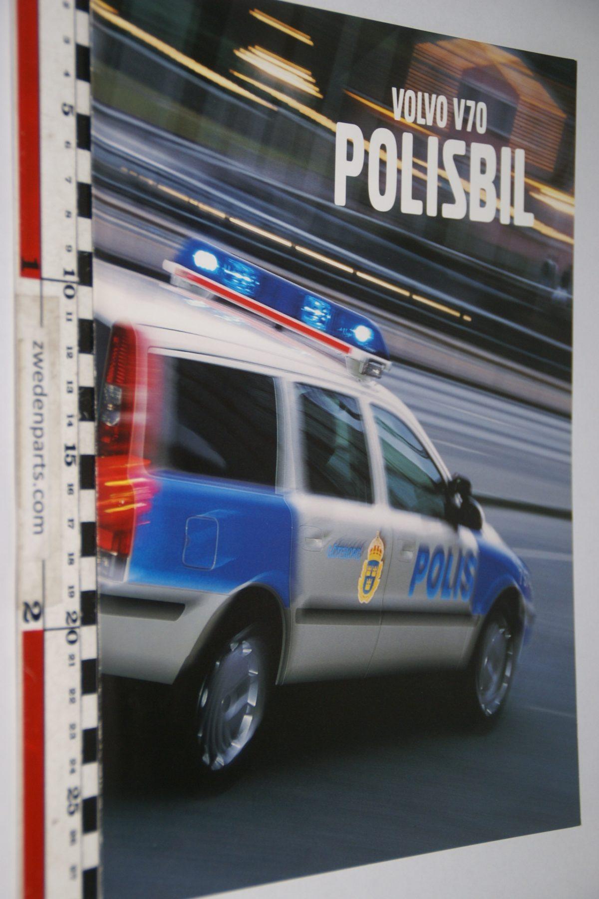 DSC06070 2002 brochure Volvo V70 Polisbil nr MSPV 1072-02