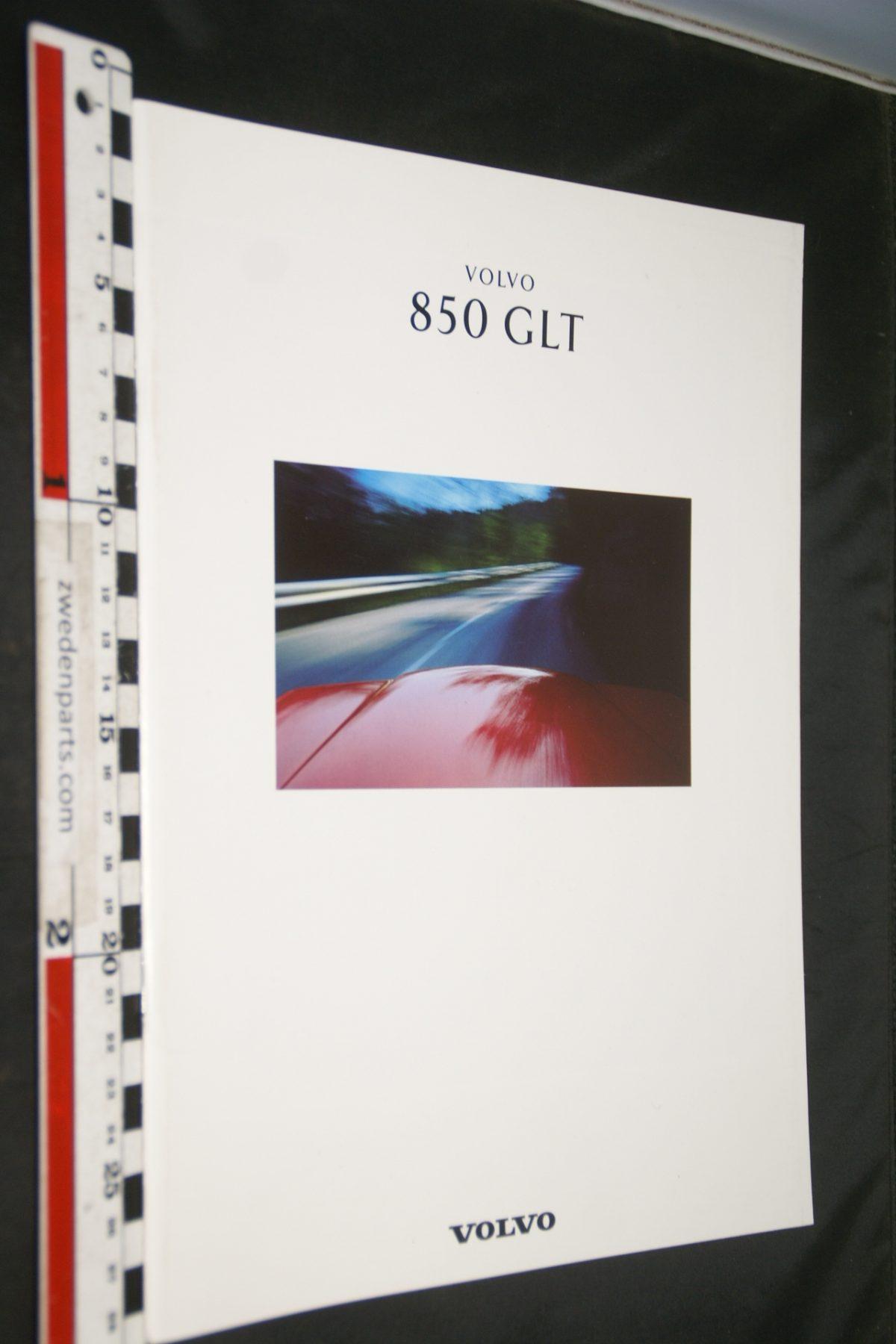 DSC06272 1992 brochure Volvo 850 GLT nr MSPV 4775-92