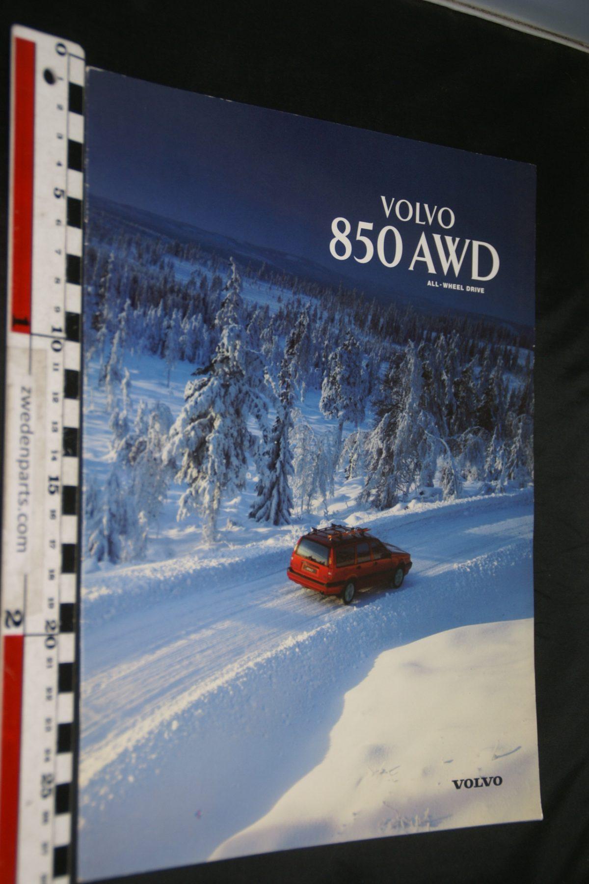 DSC06276 1997 brochure Volvo 850 AWD nr MSPV 8380, Svenskt