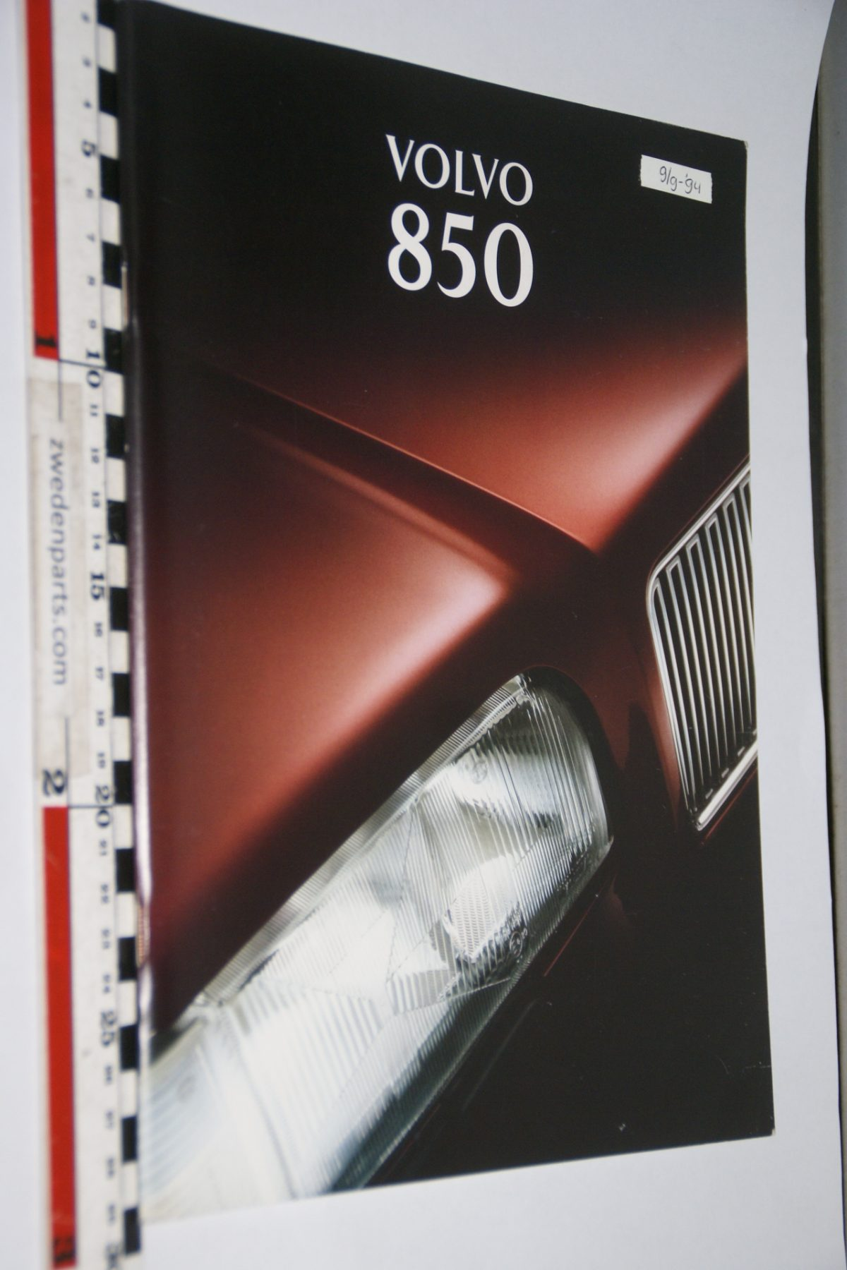 DSC06284 1995 brochure Volvo 850 nr MSPV 6635