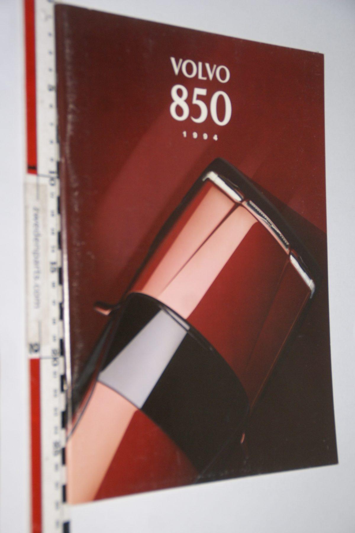 DSC06288 1994 brochure Volvo 850 nr MSPV 6060-94, Svenskt