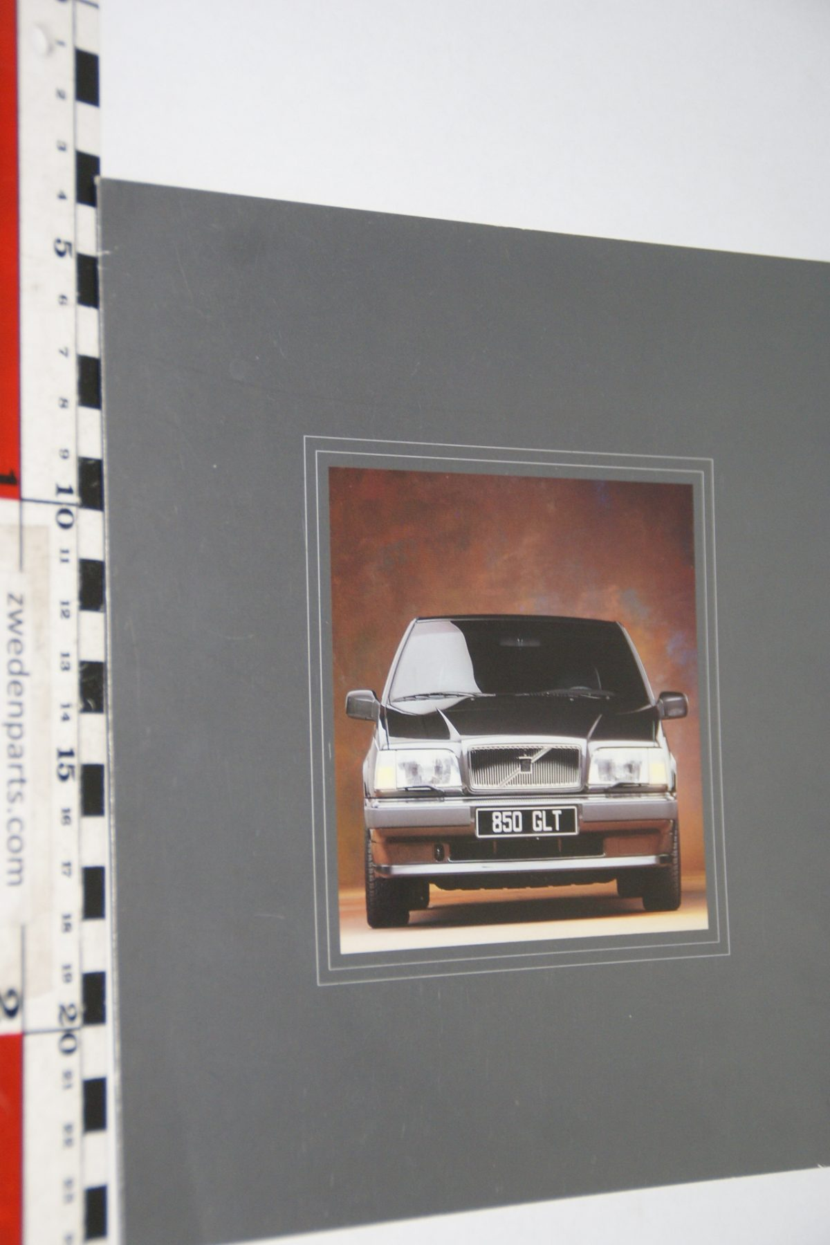 DSC06292 1991 brochure Volvo 850 GLT nr VCEM-91001