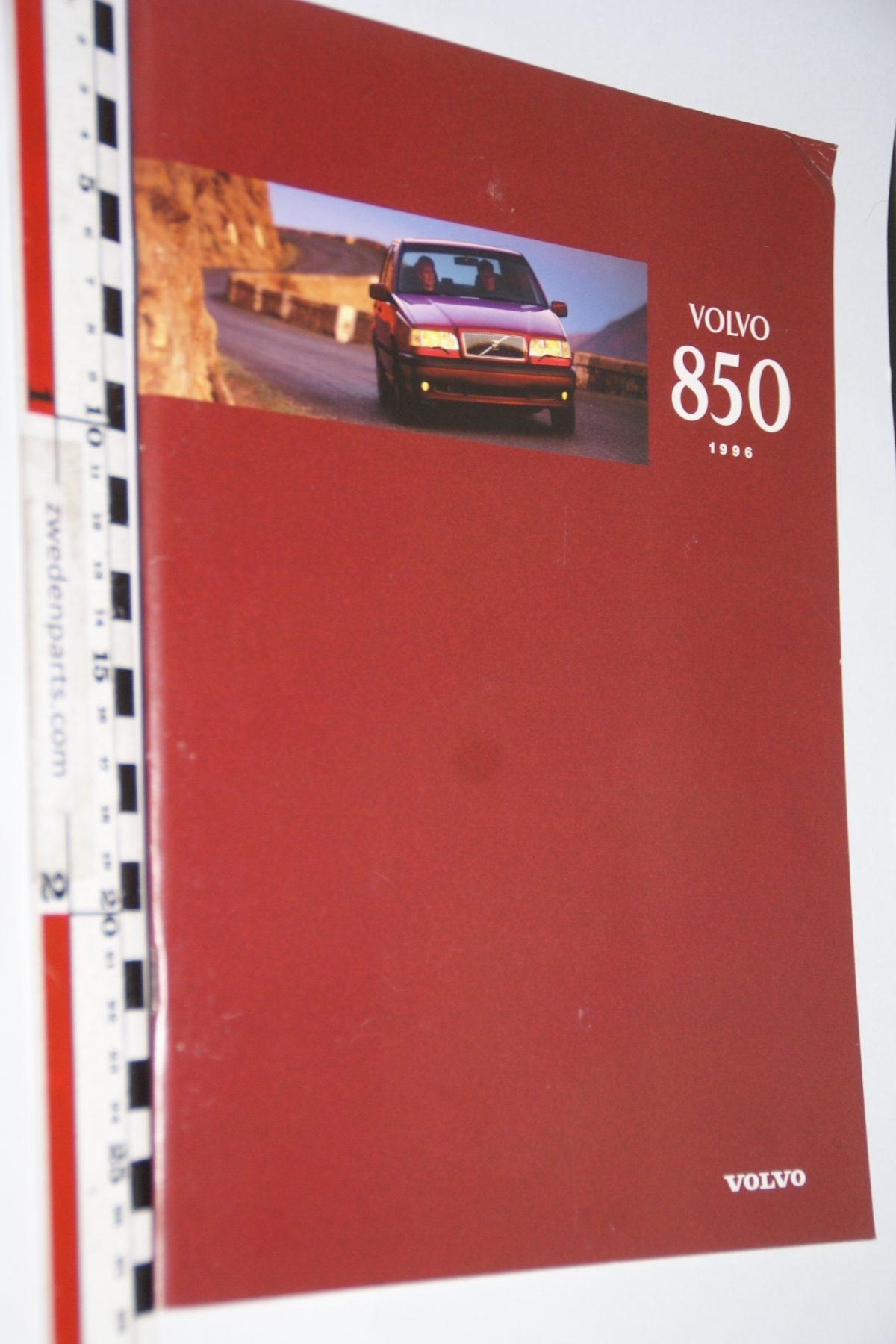 DSC06294 1996 brochure Volvo 850 nr MSPV 7450, Svenskt