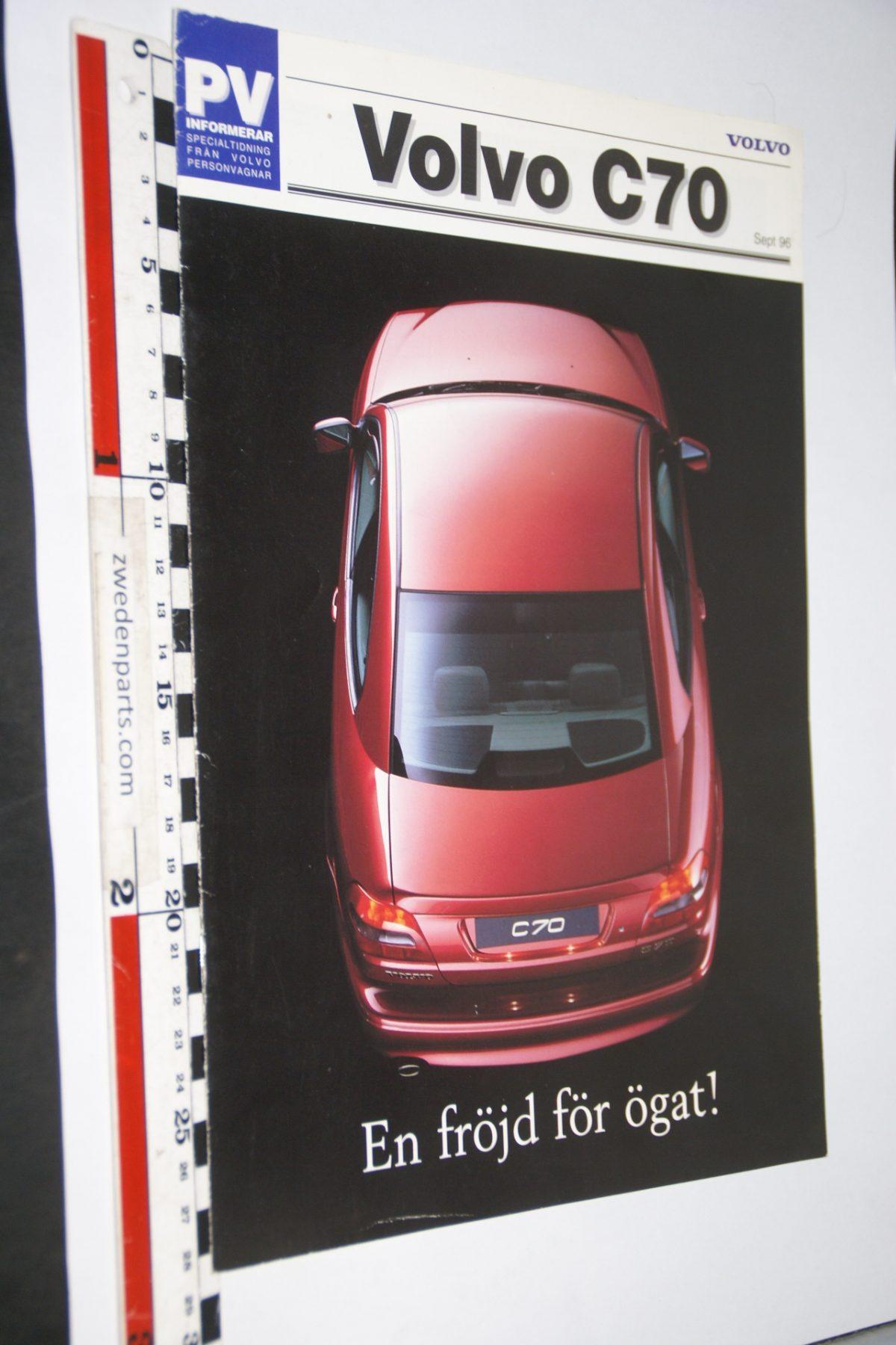DSC06304 1996 brochure Volvo C70 nr PRPV 968001, Svenskt