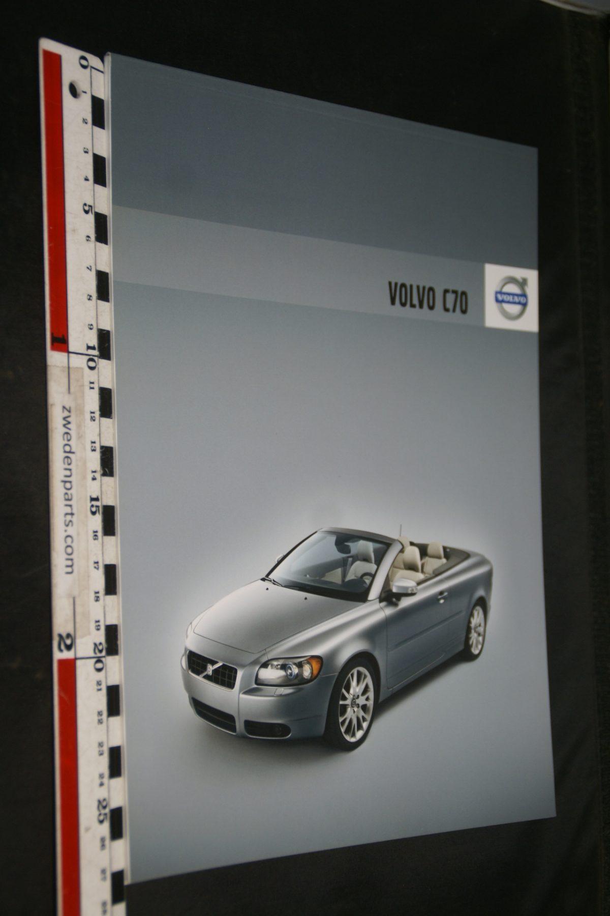 DSC06316 2007 brochure Volvo C70 nr SP-C70-00001-07-08. 05-2007-V1
