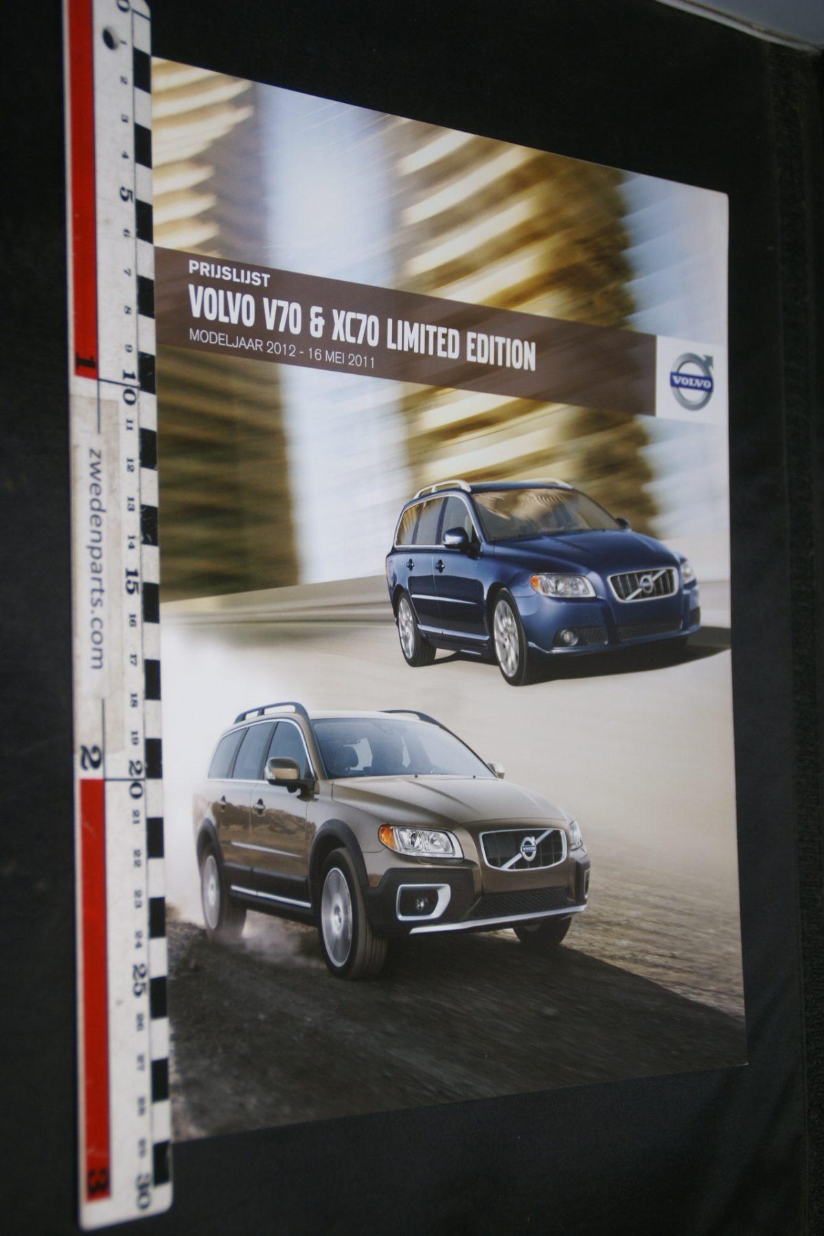 DSC06345 2011 brochure Volvo V70 en XC70 Limited Edition nr MY12 05-2011-V2