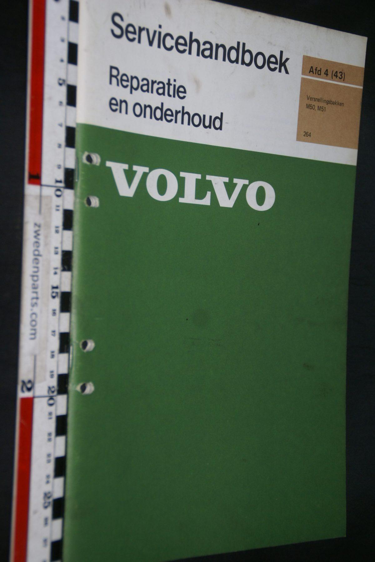 DSC06742 1975 origineel M50, M51 servicehandboek 4 (43) versnellingsbakken 1 van 500 TP 10991-1