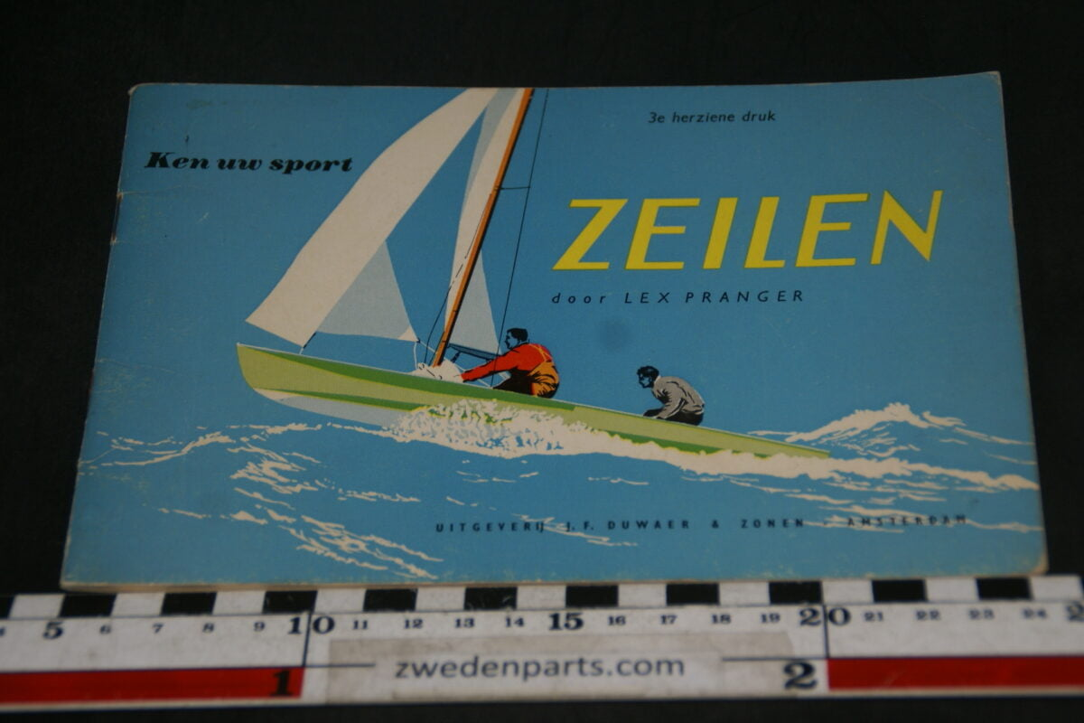 DSC06923 1982 boek zeilen van Lex Pranger  ISBN 9022812979