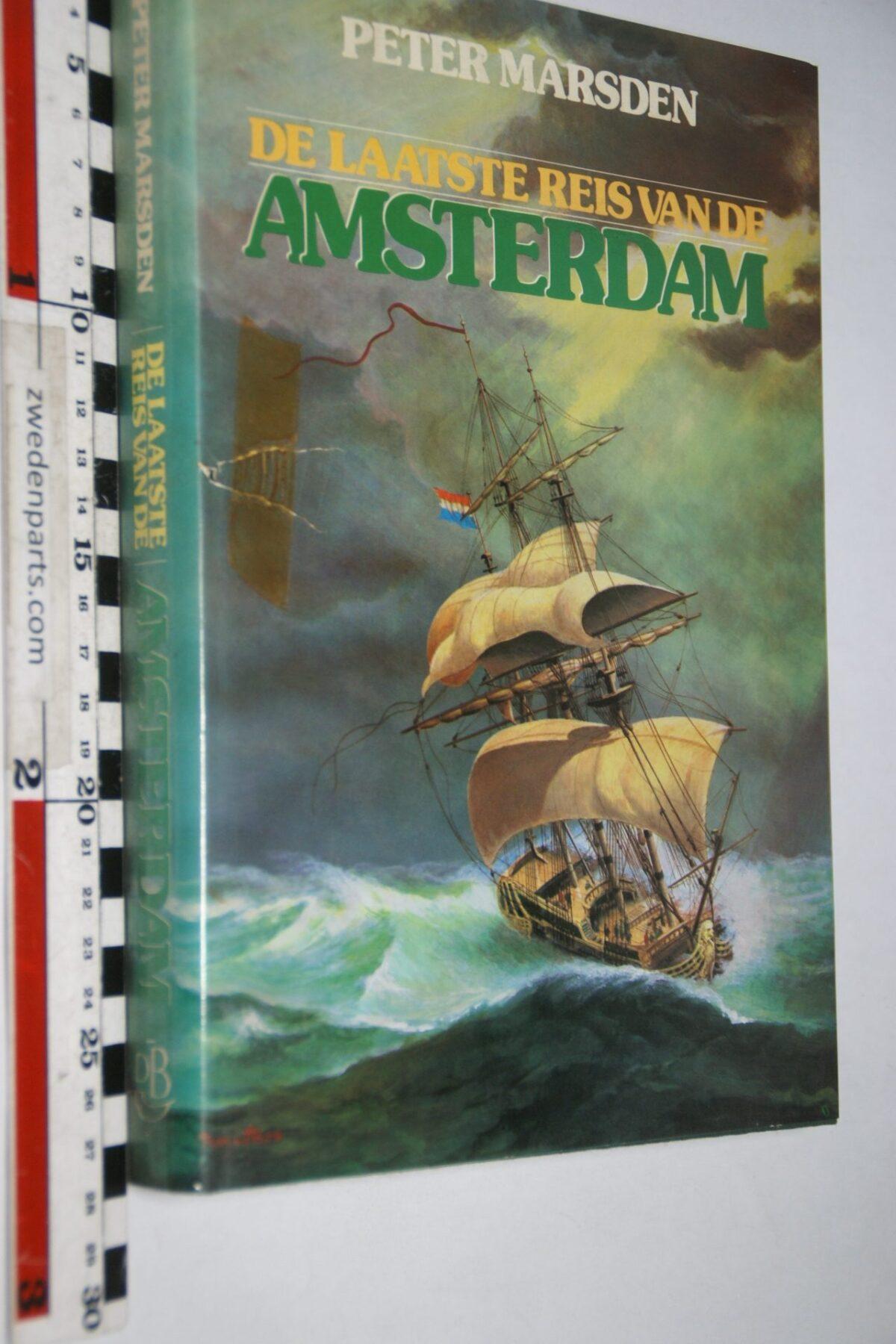 DSC06936 1982 boek de laatse reis van de Amsterdam van Peter Marsden  ISBN 9022819167