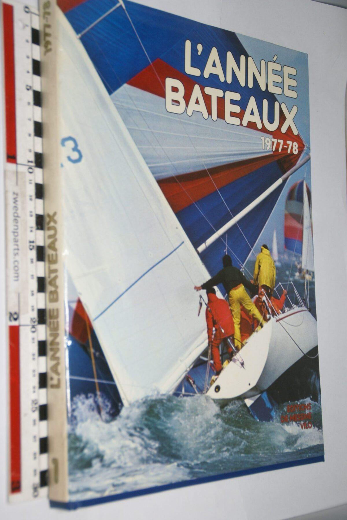 DSC06955 1977-78 boek l'Année Bateaux ISBN 2719100455