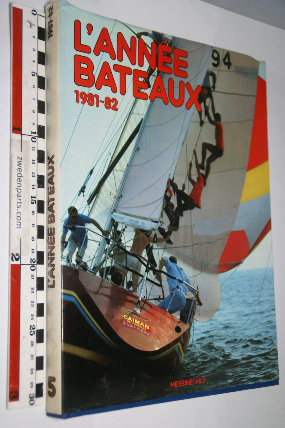 DSC06957 1981-82 boek l'Année Bateaux ISBN 2864090066