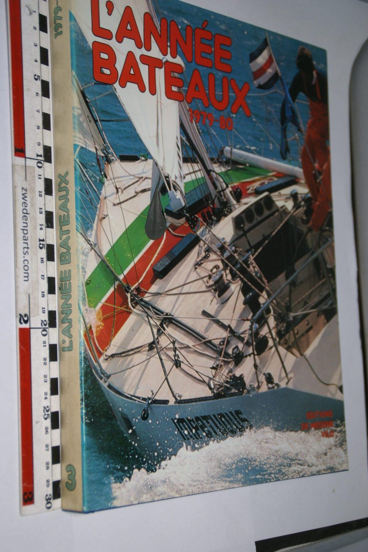 DSC06961 1979-80 boek l'Année Bateaux ISBN 2864090115