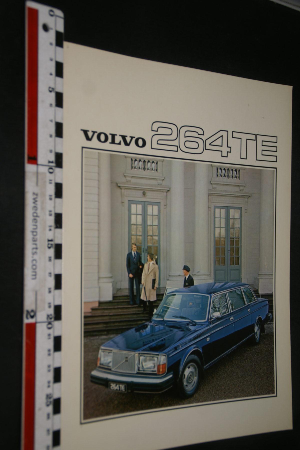 DSC07988 1976 brochure Volvo 264TE nr RSPPV 2940, English