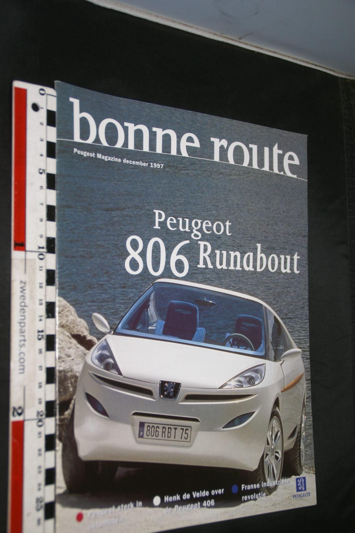 DSC08428 tijdschrift Peugeot Bonne Route 1997 december