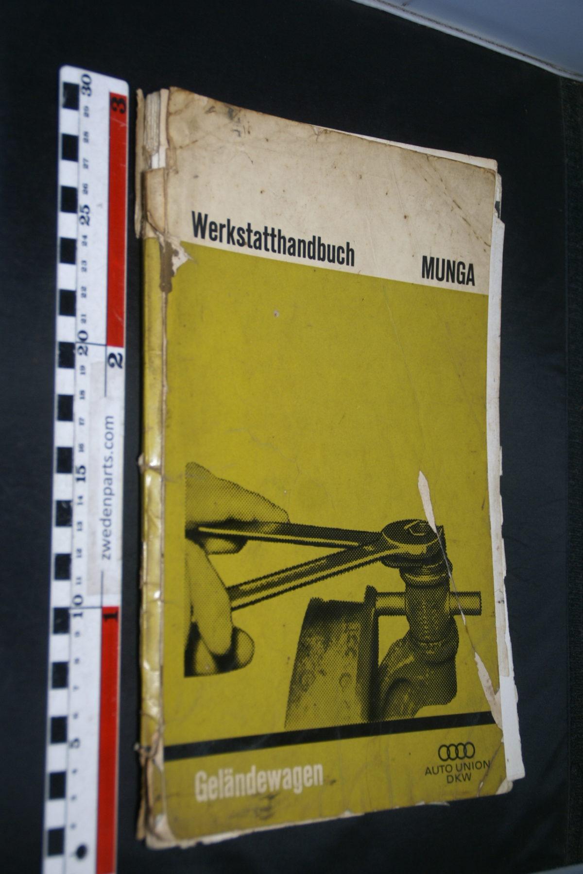 DSC08435 origineel werkplaatsboek Audi DKW Munga Geländewagen