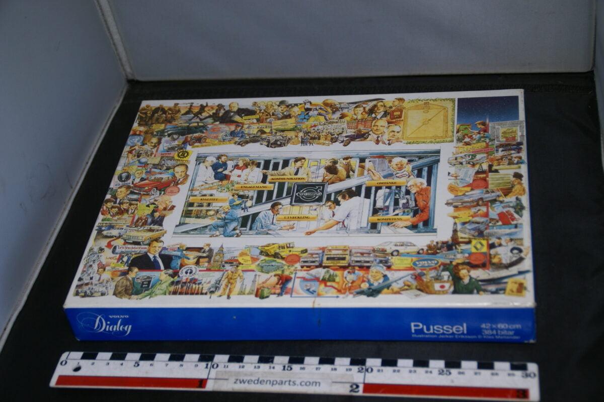DSC08557 originel Volvo puzzel afm ca 1980 42 x 60 cm