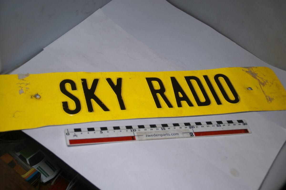DSC09085 nummerbord SKY RADIO