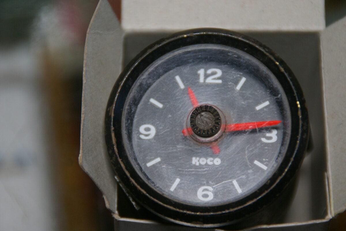 DSC08322 originele Koco klok 52 mm