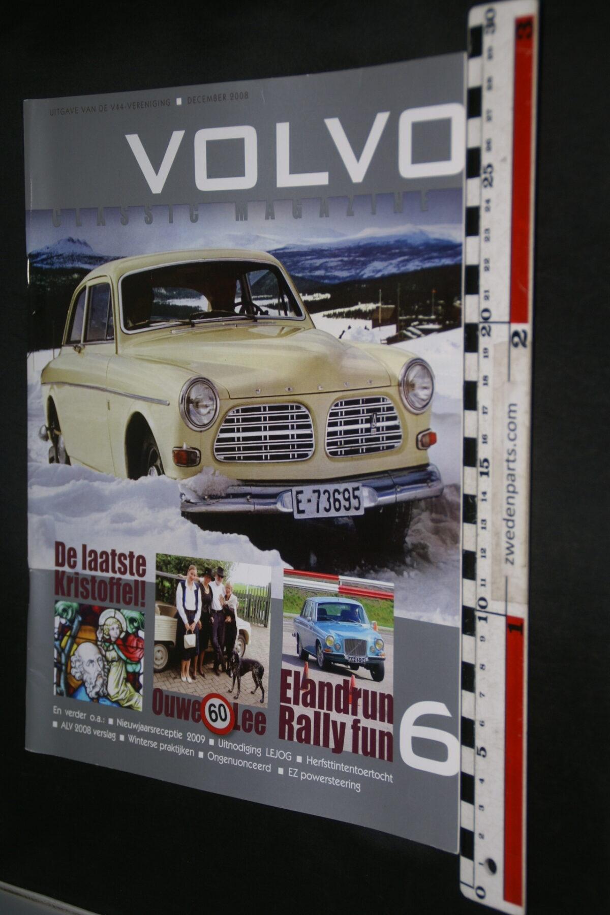 DSC09200 2008 december tijdschrift VKM Volvoclub