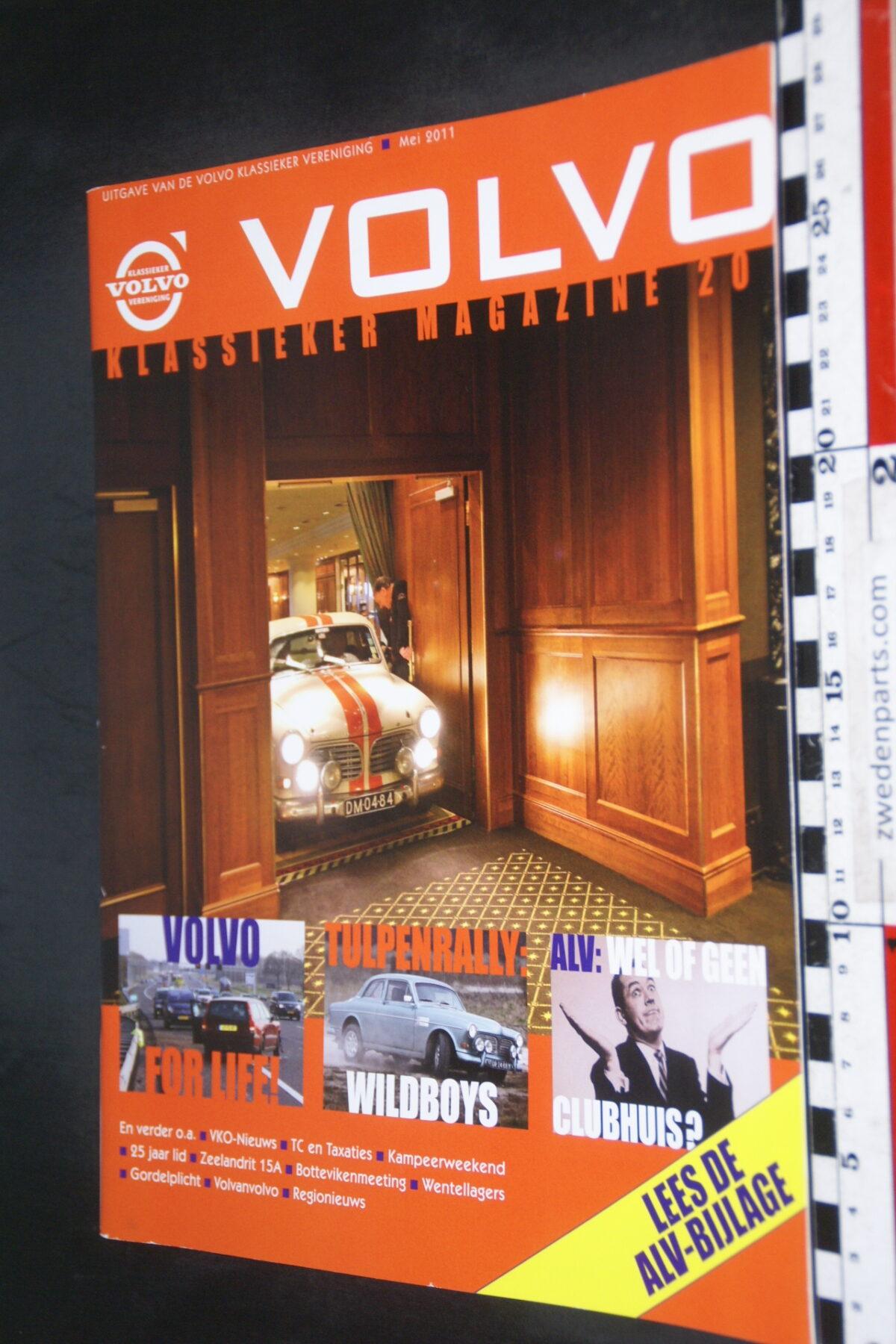 DSC09214 2011 mei tijdschrift VKM Volvoclub