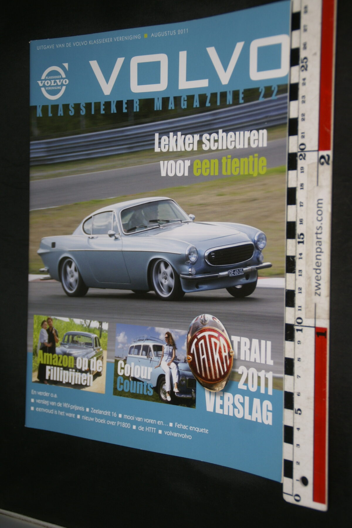 DSC09218 2011 augustus tijdschrift VKM Volvoclub