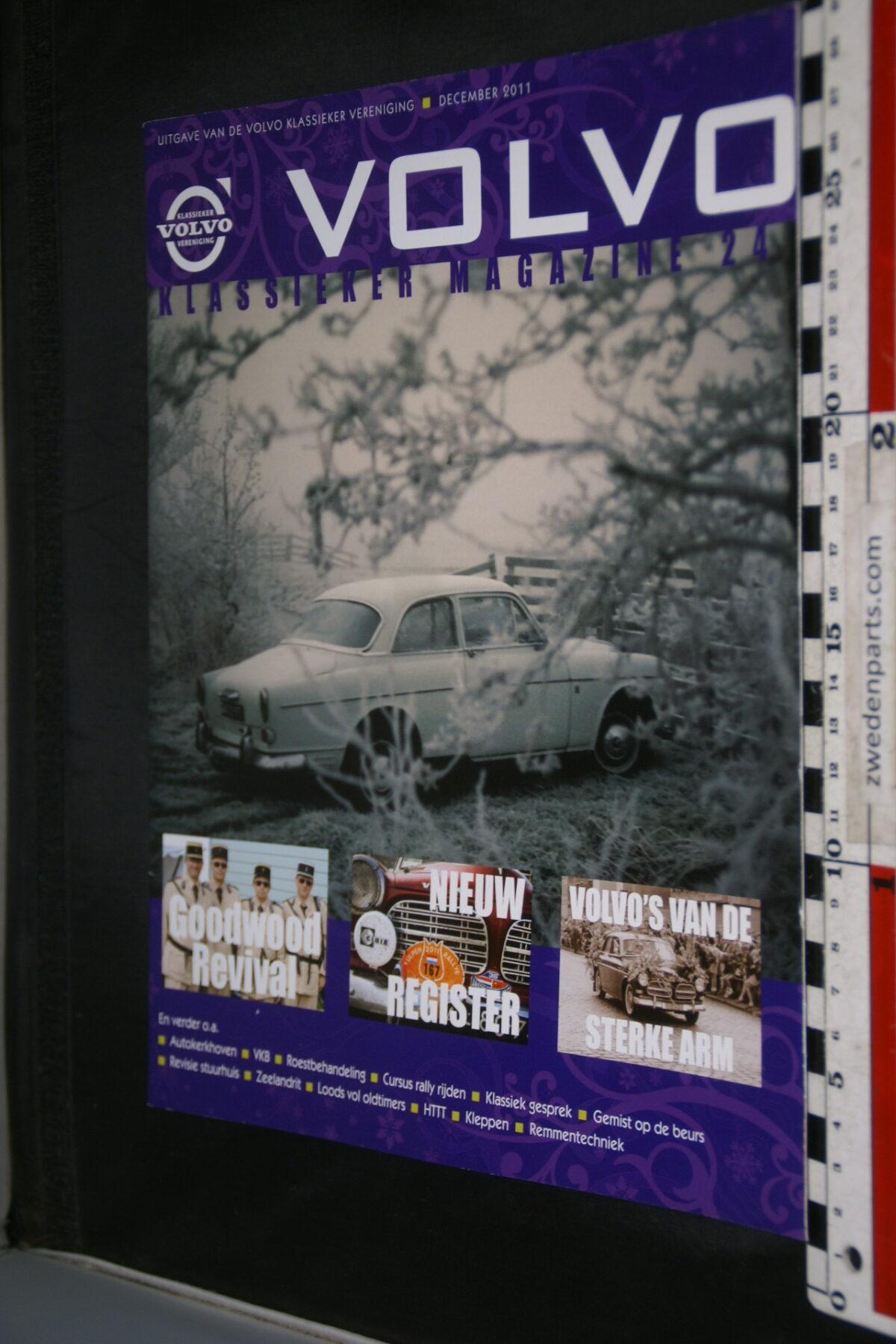 DSC09222 2011 december tijdschrift VKM Volvoclub