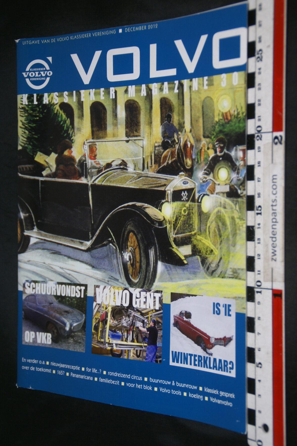 DSC09234 2012 december tijdschrift VKM Volvoclub