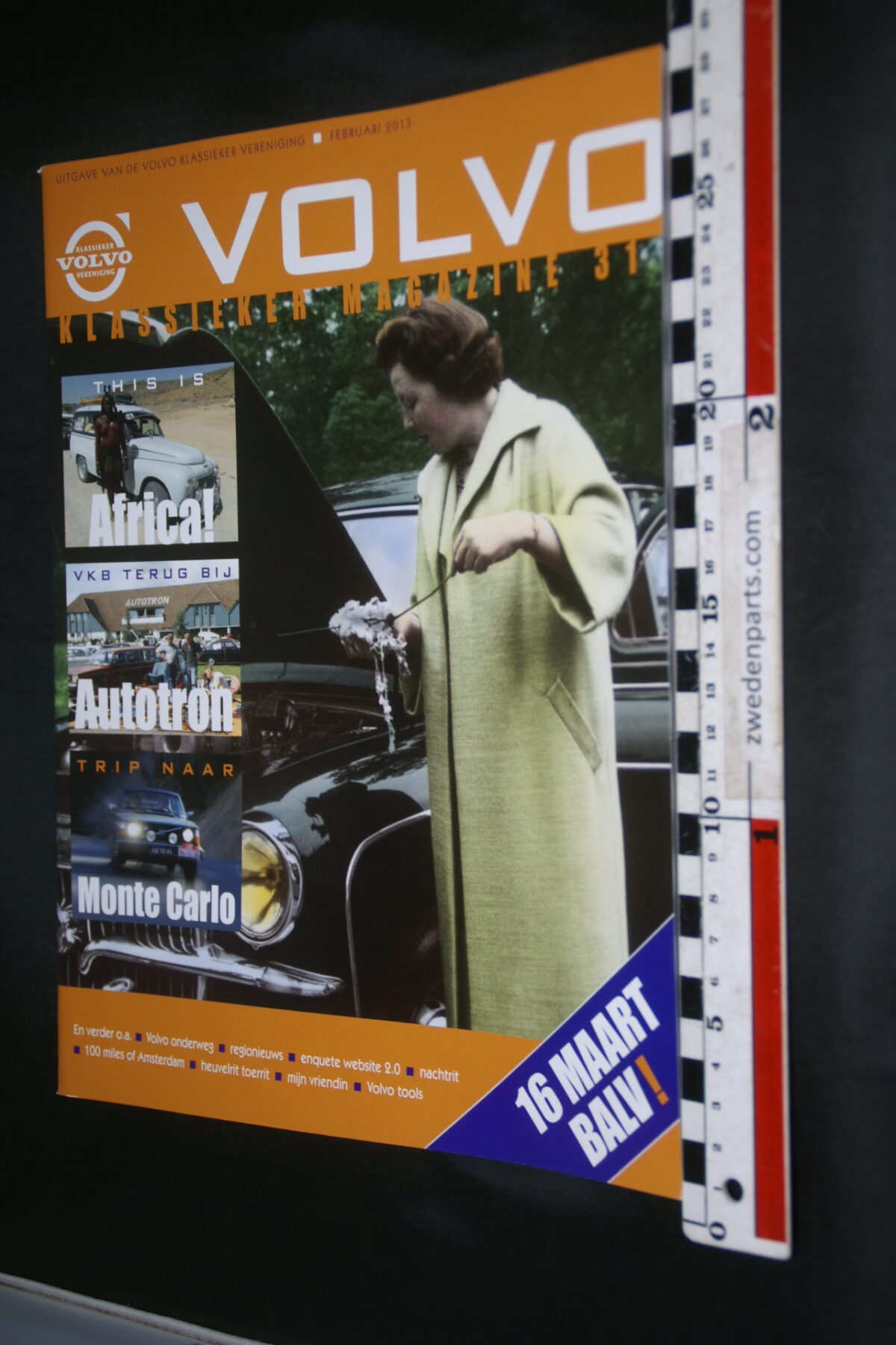 DSC09236 2013 februari tijdschrift VKM Volvoclub
