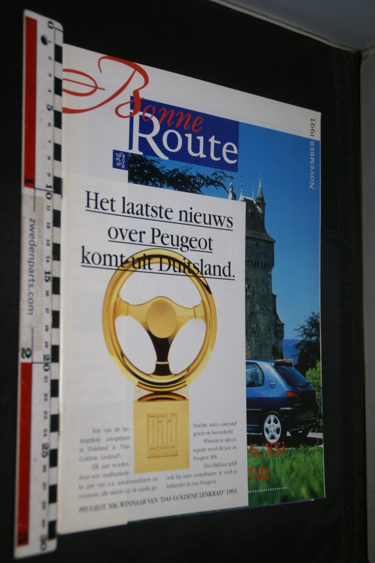 DSC08373 1993 origineel tijdschrift Bonne Route met Renault 306-e00a7531
