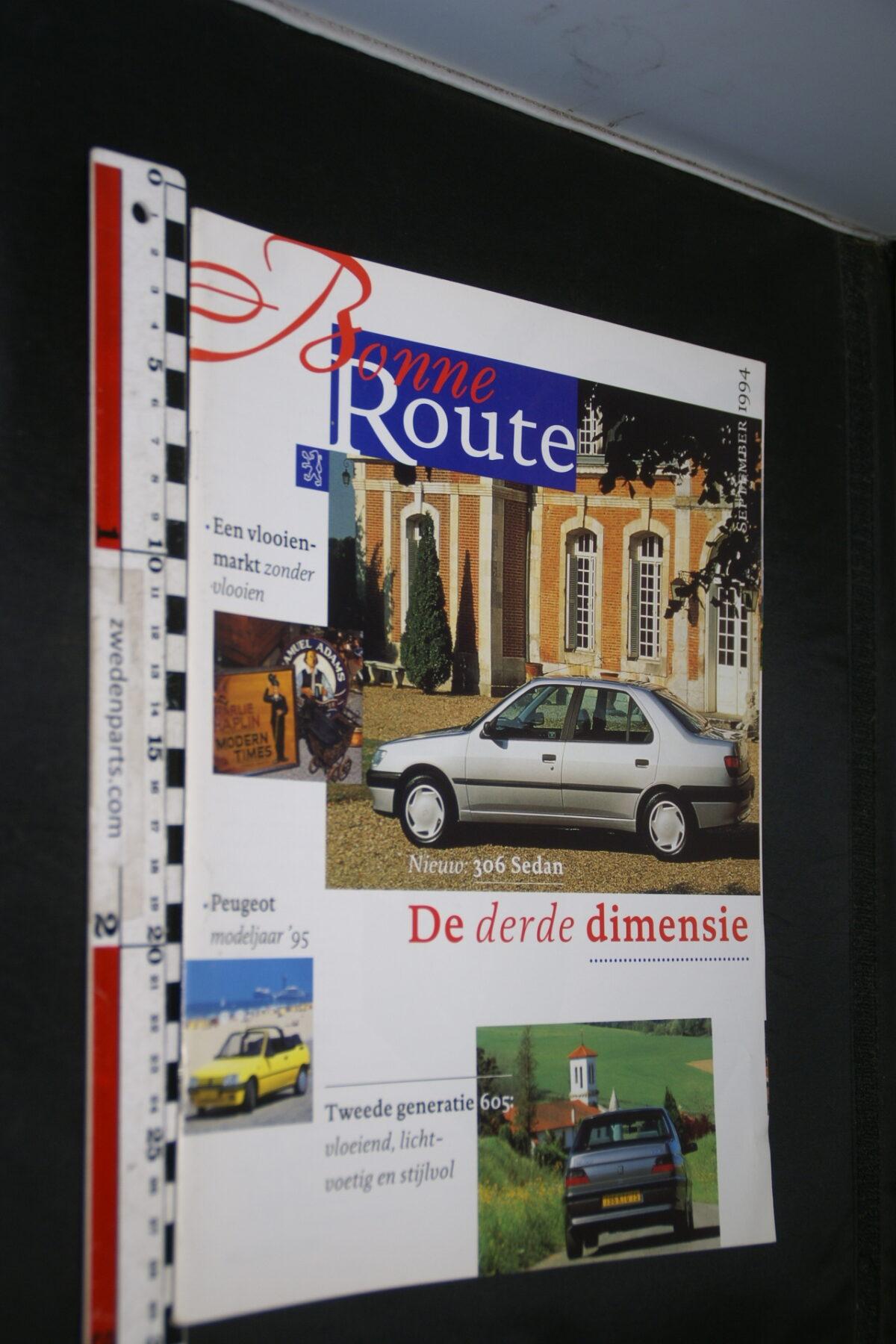 DSC08375 1995 origineel tijdschrift Bonne Route met Renault 306 en 605-ef30374b