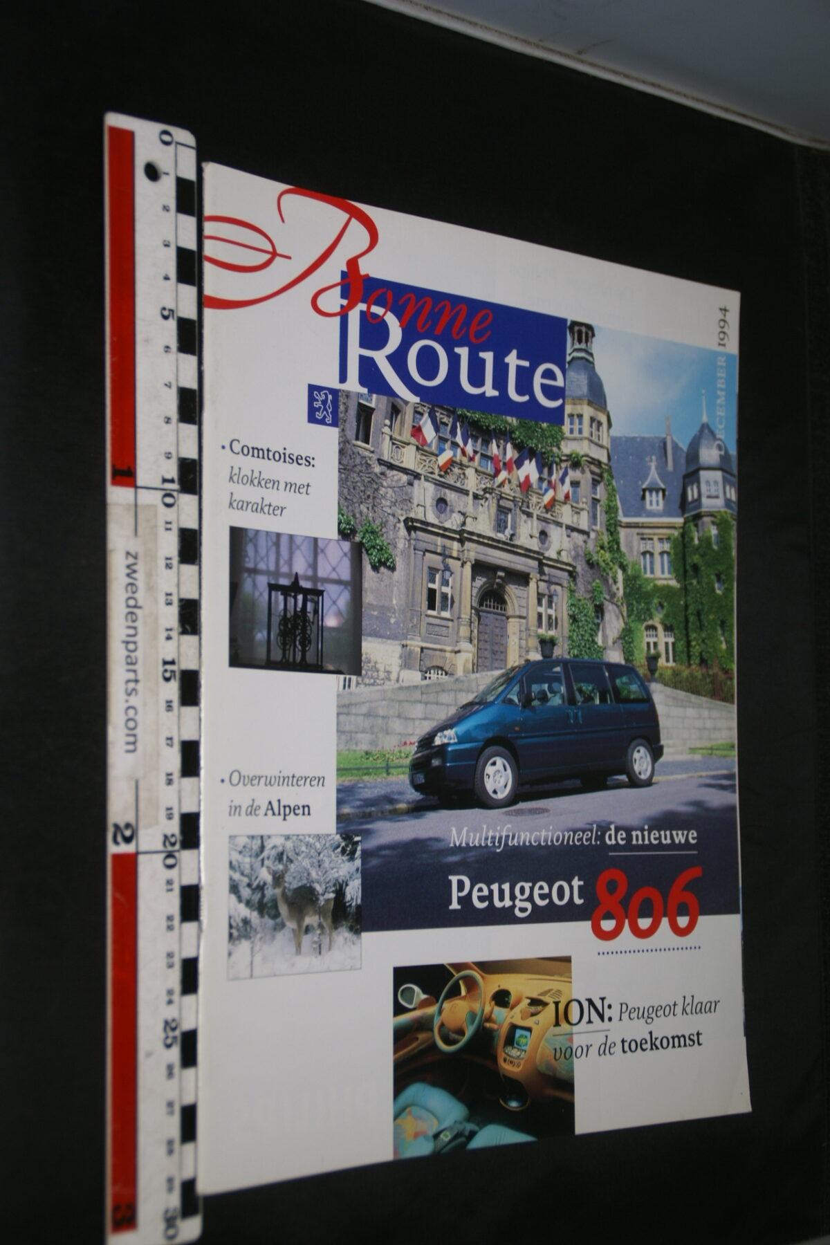 DSC08376 origineel tijdschrift Bonne Route met Renault 806 en ION-e124e555