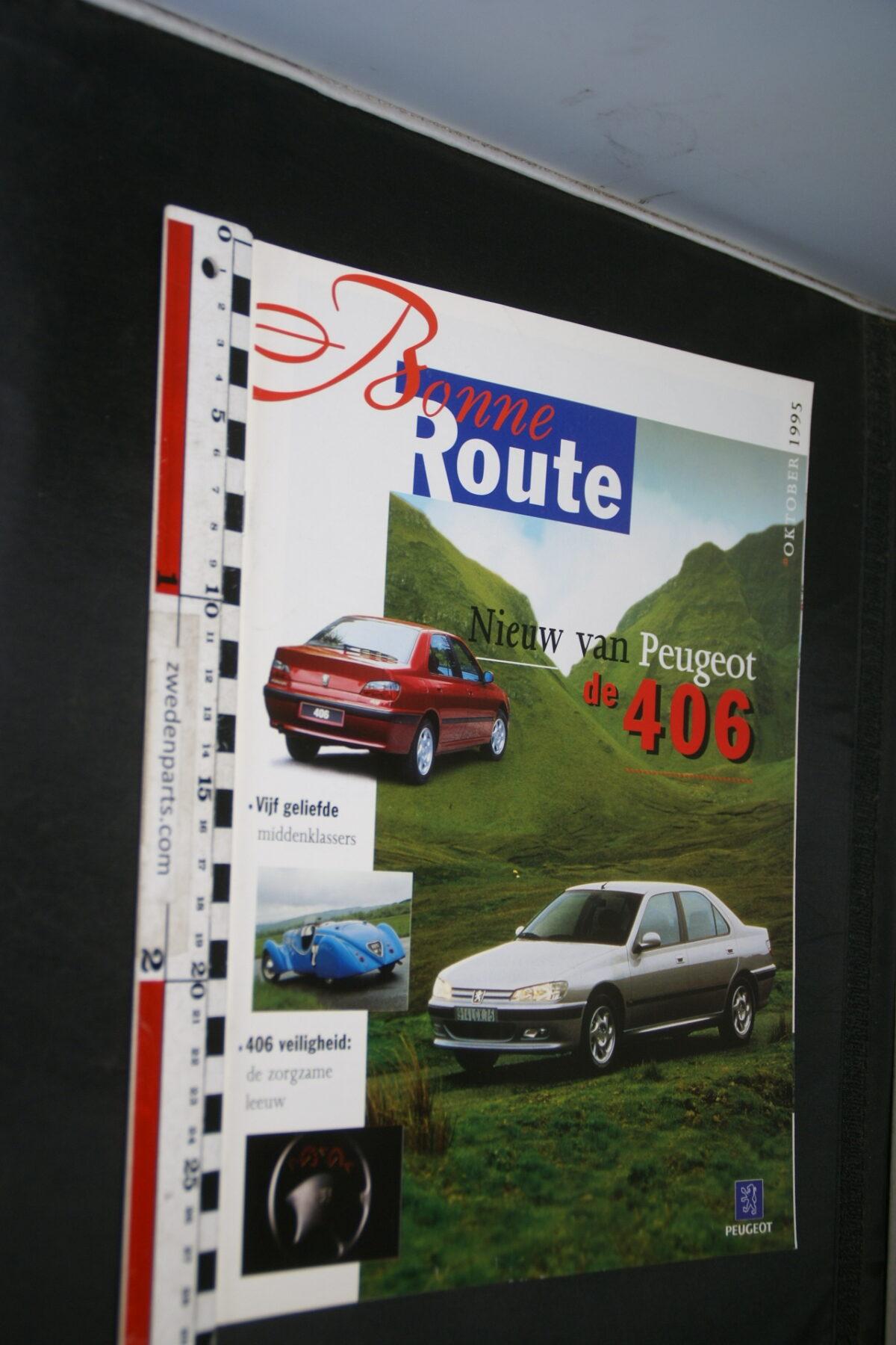 DSC08377 origineel tijdschrift Bonne Route met Renault 406-bdc0c187