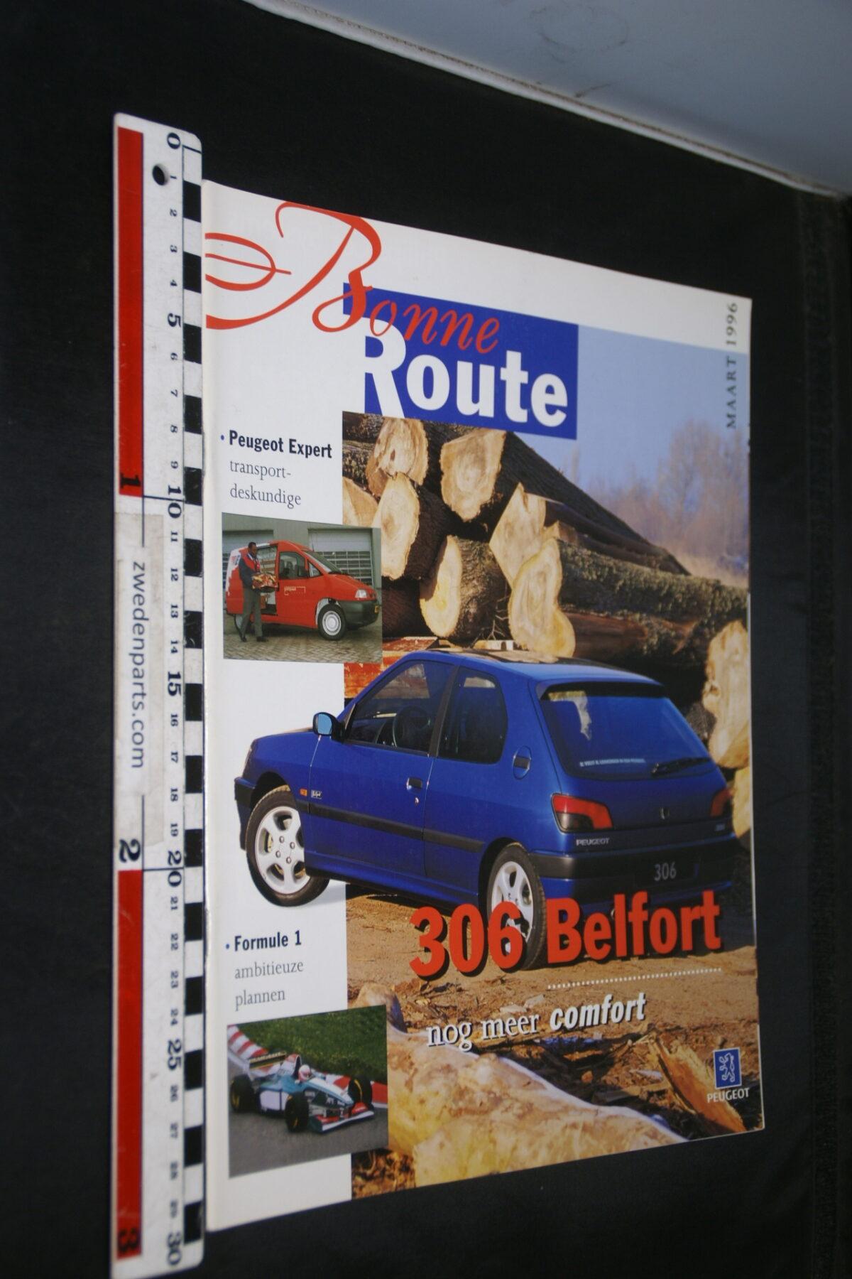 DSC08378 origineel tijdschrift Bonne Route met Renault 306 Belfort-fa73efa3
