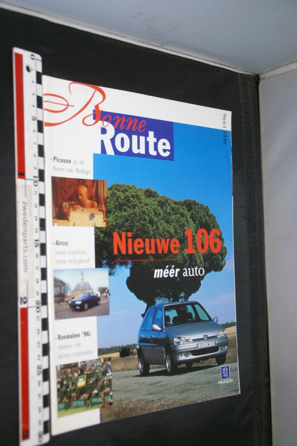 DSC08379 origineel tijdschrift Bonne Route met Renault 106-f0ff4785