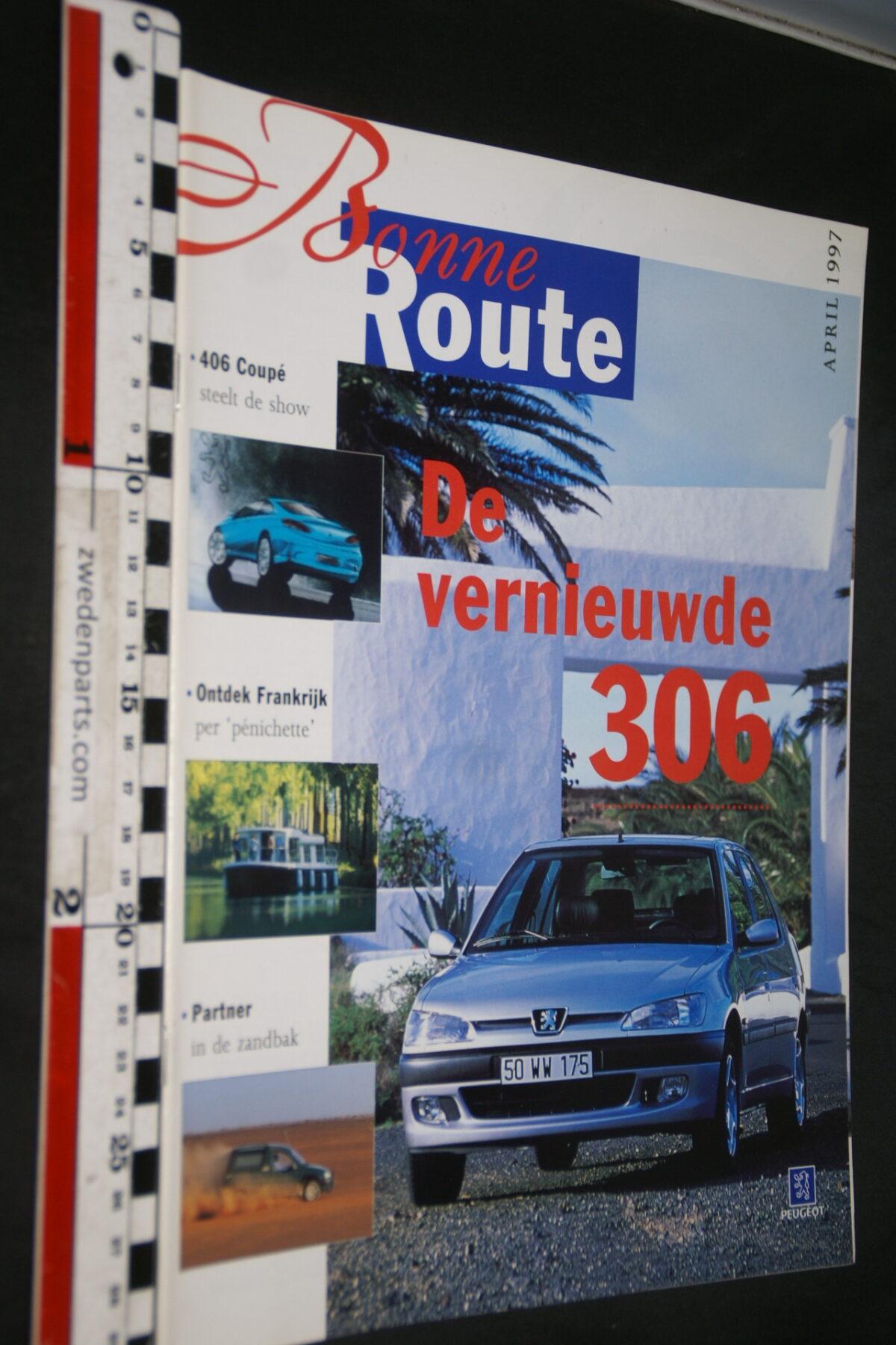 DSC08381 1997 origineel tijdschrift Bonne Route met Renault 306-ffbcd8e2