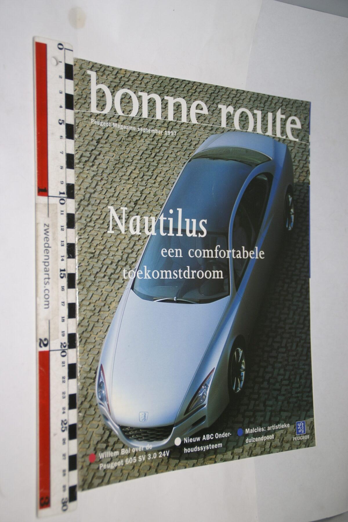 DSC08391 1997 september origineel tijdschrift Bonne Route met Renault Nautilus-88be3d5a