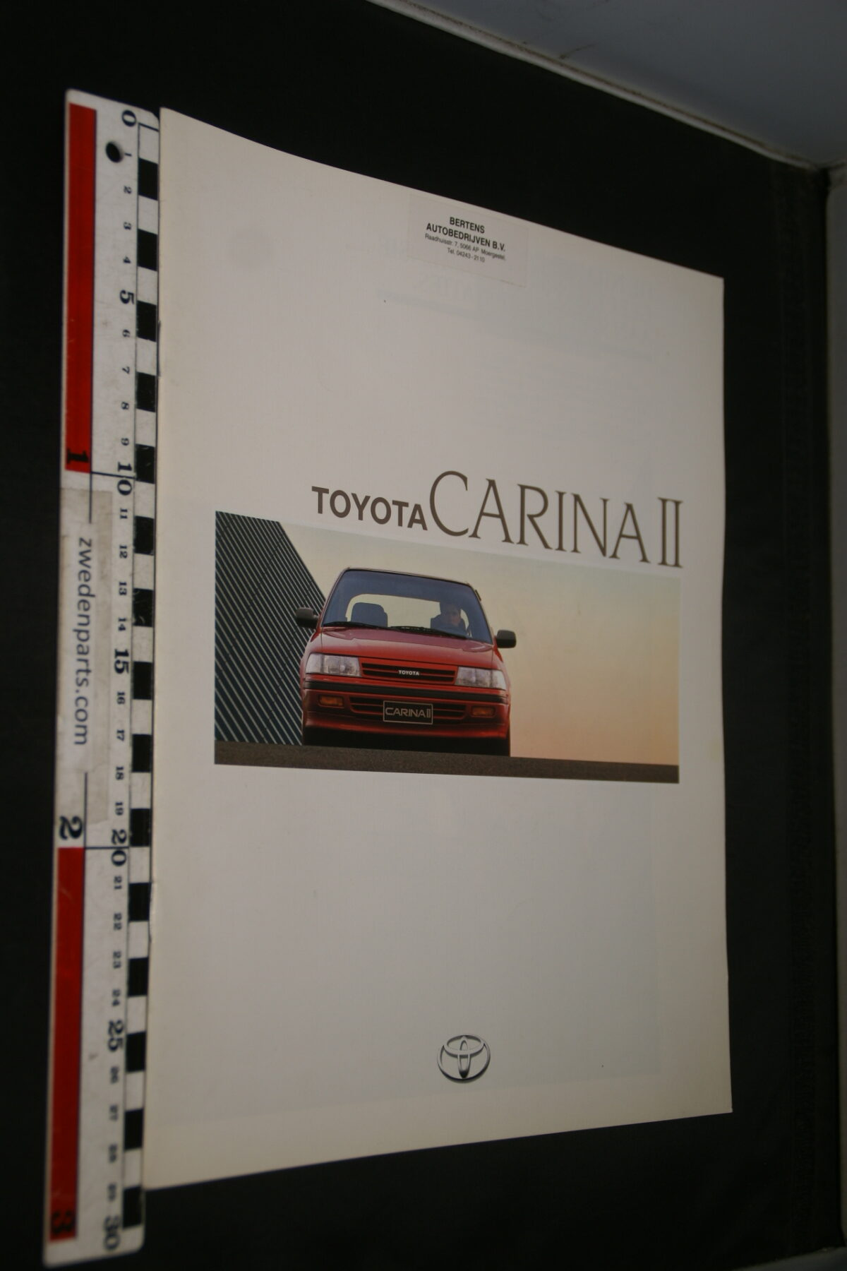 DSC08399 originele brochure Toyota Carina II-472a2feb