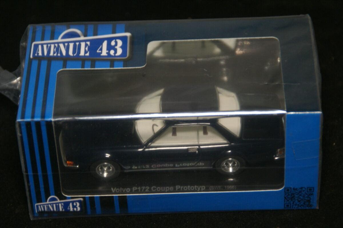 DSC09675 1966 miniatuur Volvo P172 prototype blauw 1op43 Avenue 43 nr 60007 MB-80be4e27