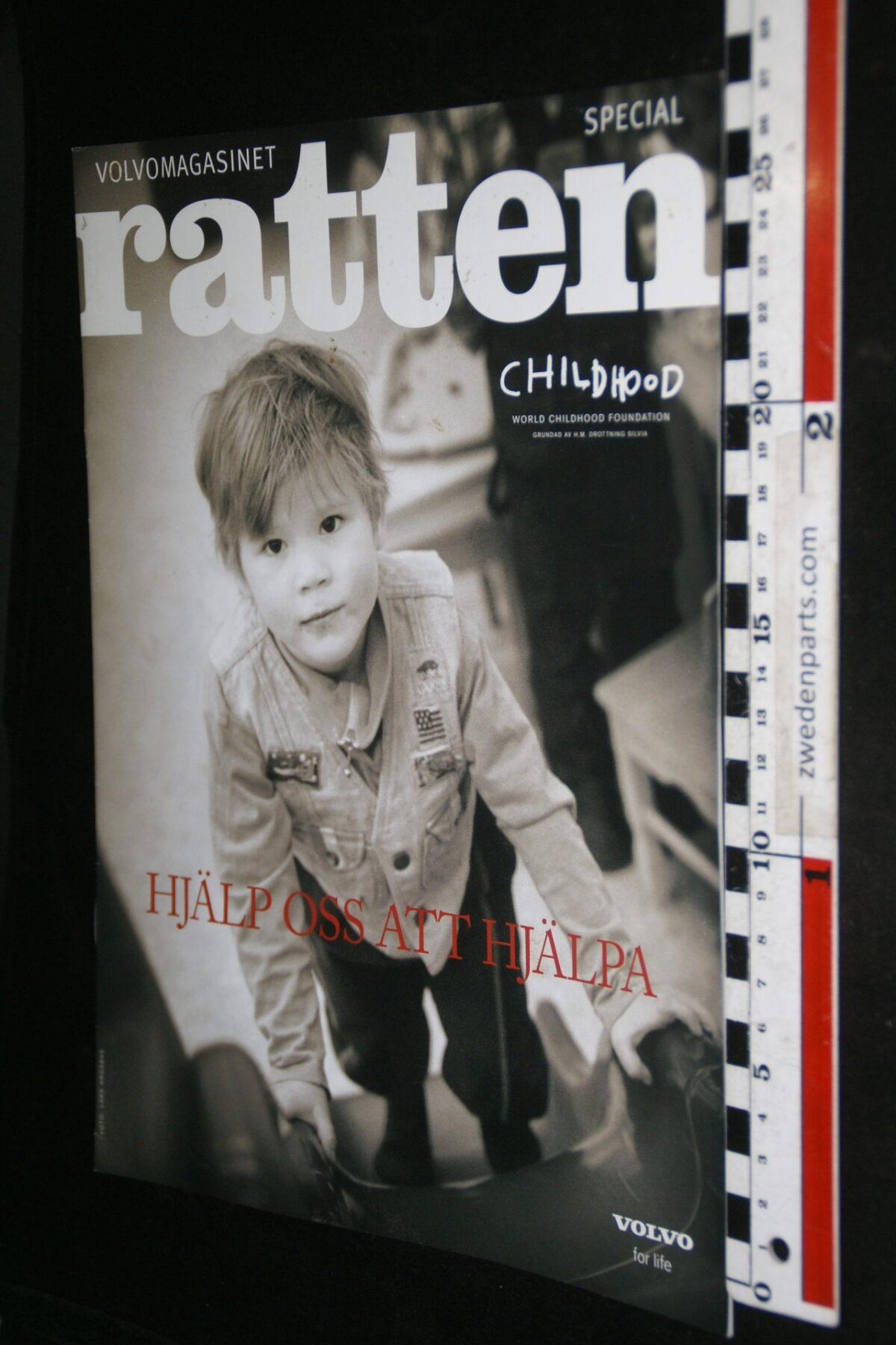 DSC00293 2003 origineel Volvotijdschrift Ratten nr VB-PV 214 Svensk-6ce09ab3
