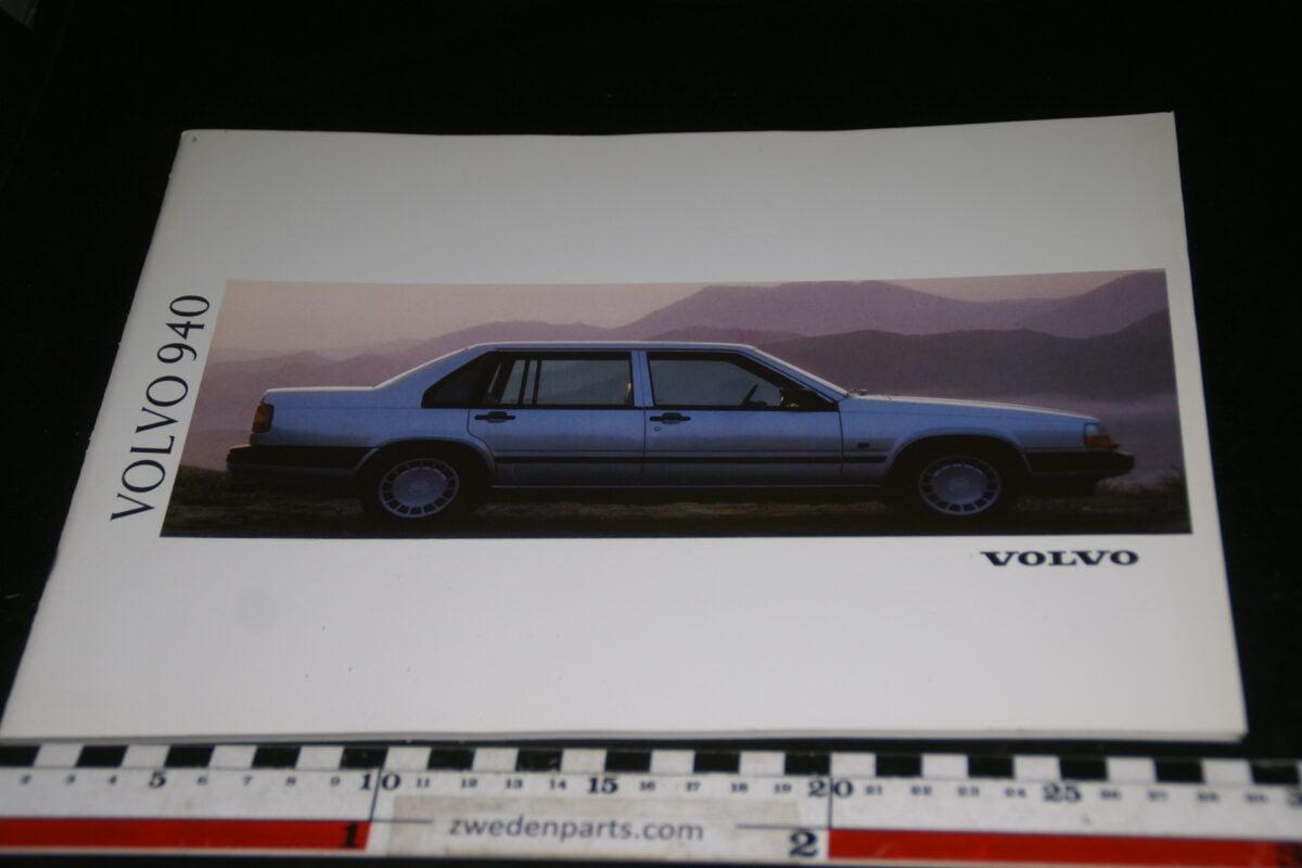 DSC00307 1991 originele Volvo brochure 940  nr. MS-PV 4146-8a4ab084